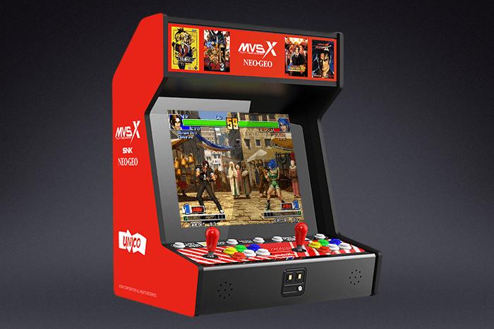 SNK anuncia la Neo Geo MVSX, una maquinita con 50 juegos retro