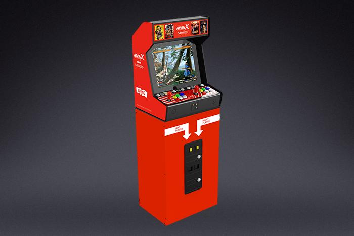 SNK anuncia la Neo Geo MVSX, una maquinita con 50 juegos retro 2