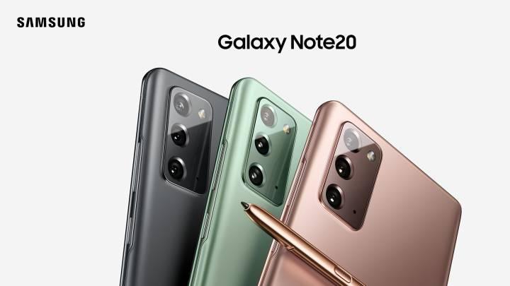 Samsung presenta los Galaxy Note 20 y Galaxy Z Fold 2