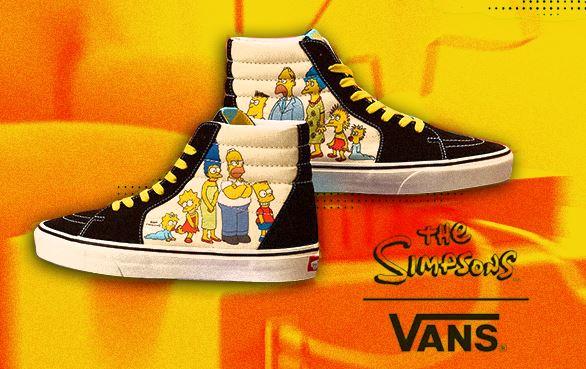 Vans lanza colección en colaboración con 'Los Simpsons'
