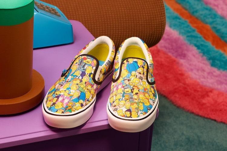Vans lanza colección en colaboración con 'Los Simpsons'  2