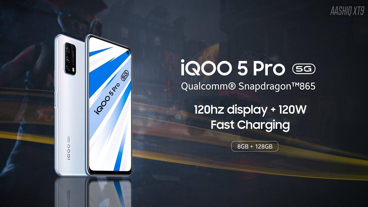 iQOO 5, el smartphone económico con carga ultra rápida de 120W