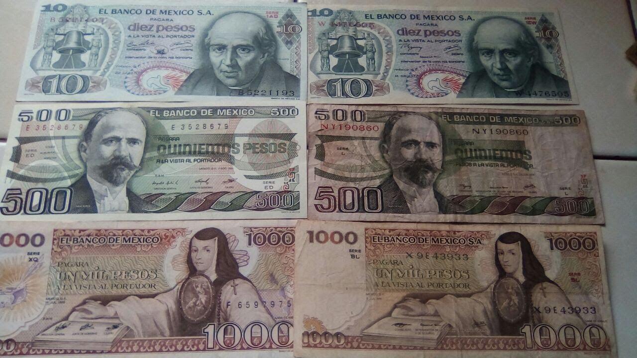 """Aun conservas los billetes o monedas de los """"Viejos Pesos"""", aquí te decimos cuánto valen"""
