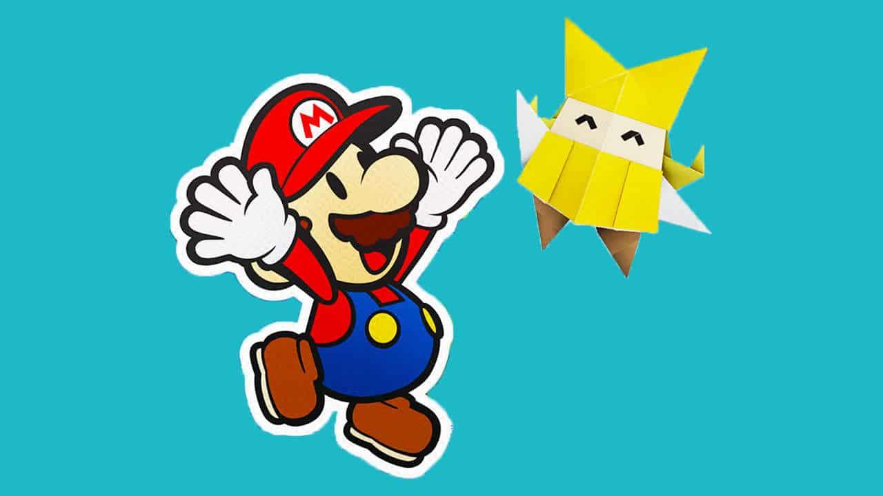 Nintendo lanza una serie de videos tutoriales para recrear a tus personajes favoritos en Origami