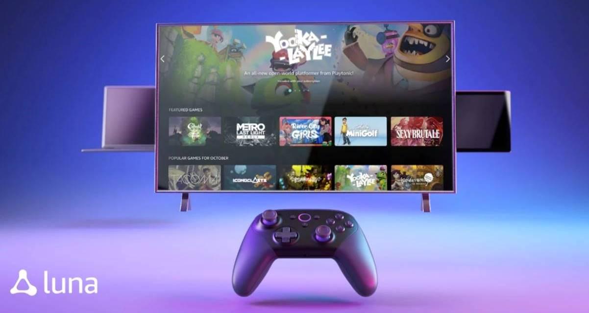 Amazon Luna: el nuevo servicio de streaming de videojuegos ya es oficial