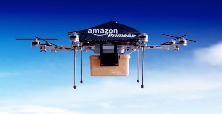 Amazon recibe certificación para entregar paquetes con drones en EU