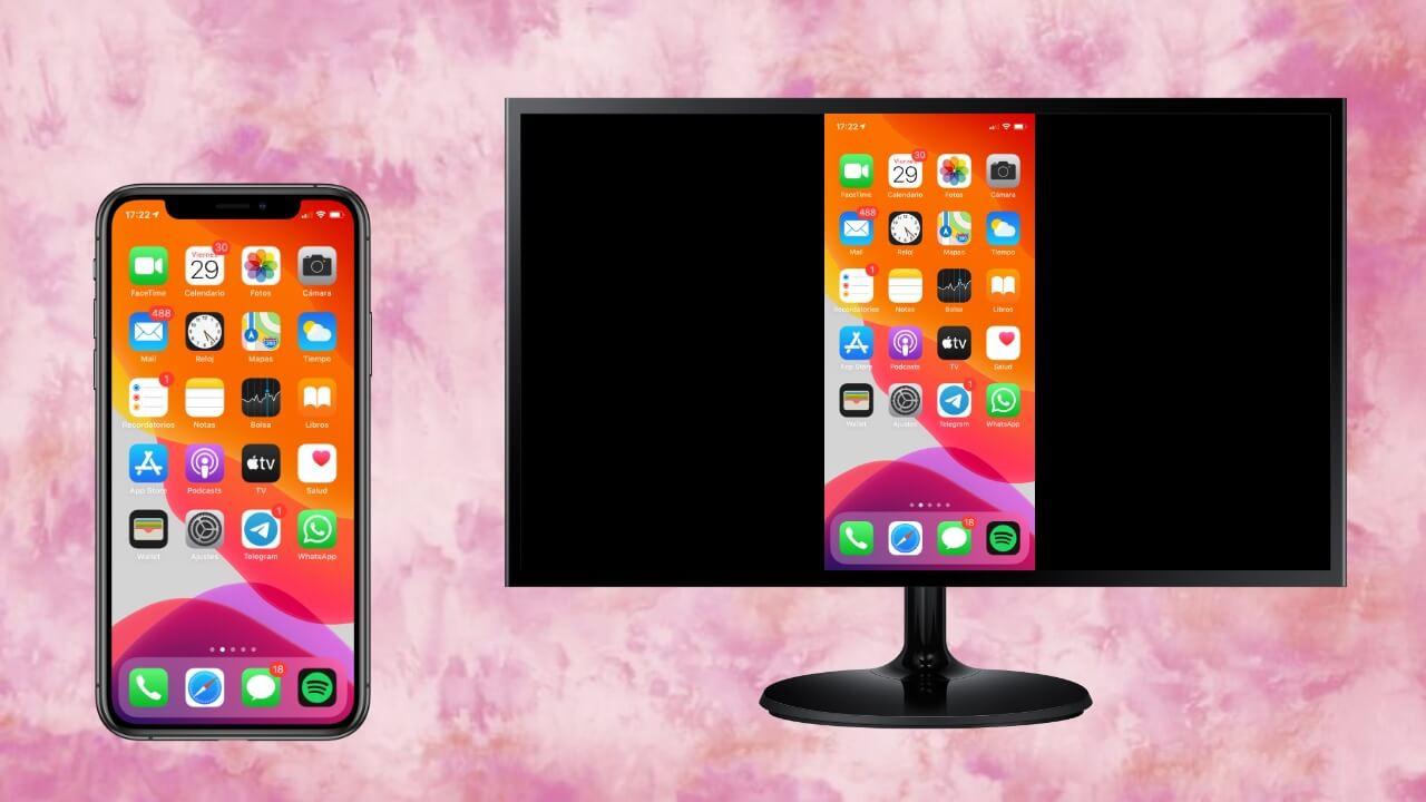 Así puedes duplicar la pantalla de tu iPhone en tu TV o monitor