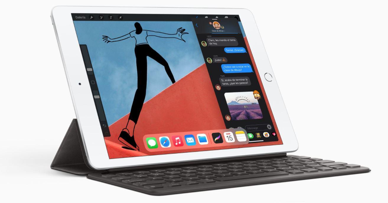 Conoce el iPad de 8va generación, la tablet más barata de Apple en 2020