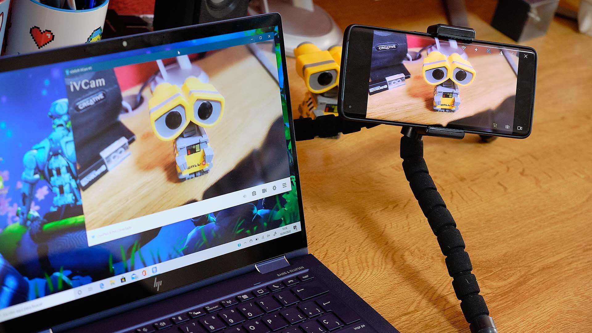 Convierte tu smartphone en una webcam para tus videollamadas