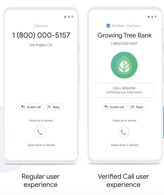 """Google lanza función de """"Llamadas verificadas"""" para evitar spam"""