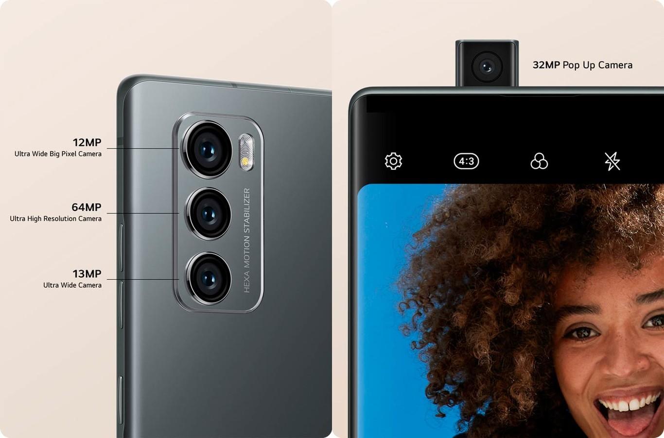LG Wing: El smartphone con dos pantallas y cámara frontal 'pop-up' 2