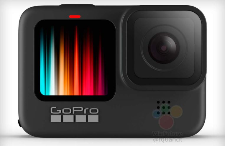 La GoPro Hero 9 Black tendrá pantalla frontal a color e HyperSmooth 3.0