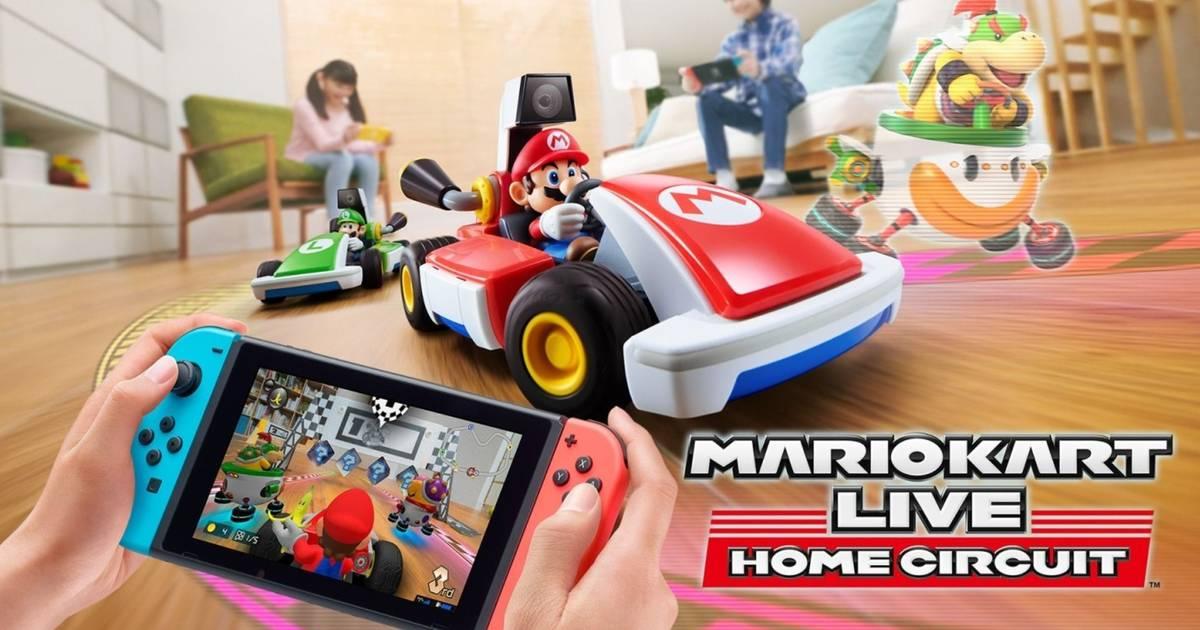 Mario Kart Live: Home Circuit, convierte tu sala en una pista de carreras