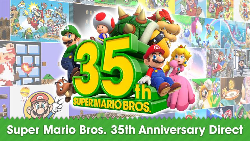 Nintendo anuncia varios juegos por los 35 años de 'Super Mario Bros.'
