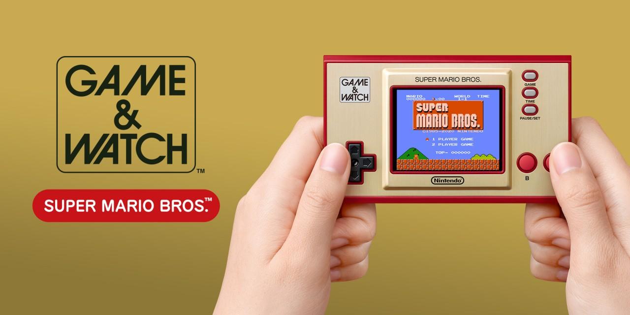 Nintendo trae de regreso el Game & Watch con 'Super Mario Bros.' incluido