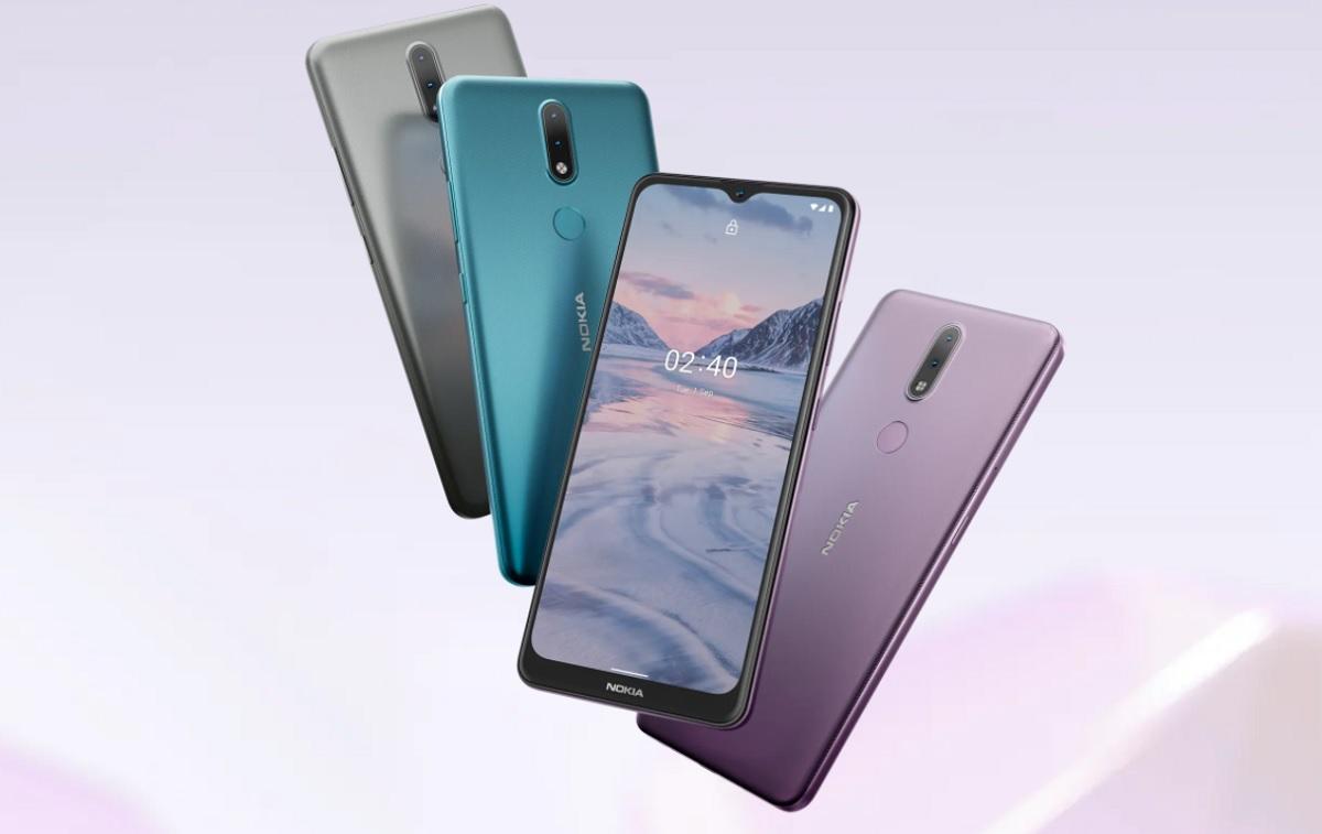 Nokia 2.4 y Nokia 3.4, dos nuevos teléfonos baratos y con gran diseño