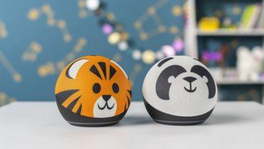 Amazon presentó los nuevos Echo: esféricos y con diseños de animales para niños