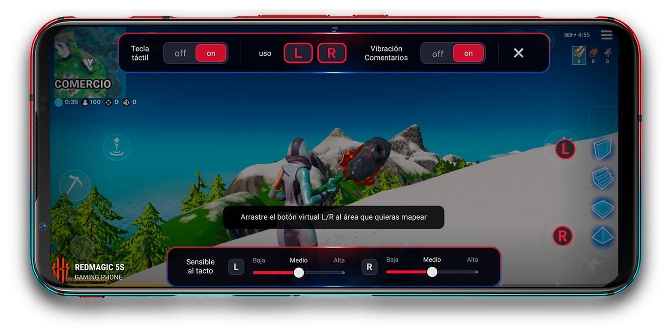 Red Magic 5S: El smartphone gamer con mejor relación calidad-precio 2