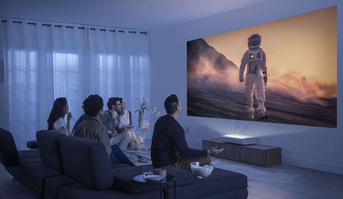 Samsung The Premiere: El primer proyector láser 4K de alcance ultracorto