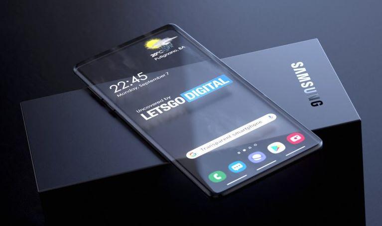Samsung busca desarrollar smartphones transparentes