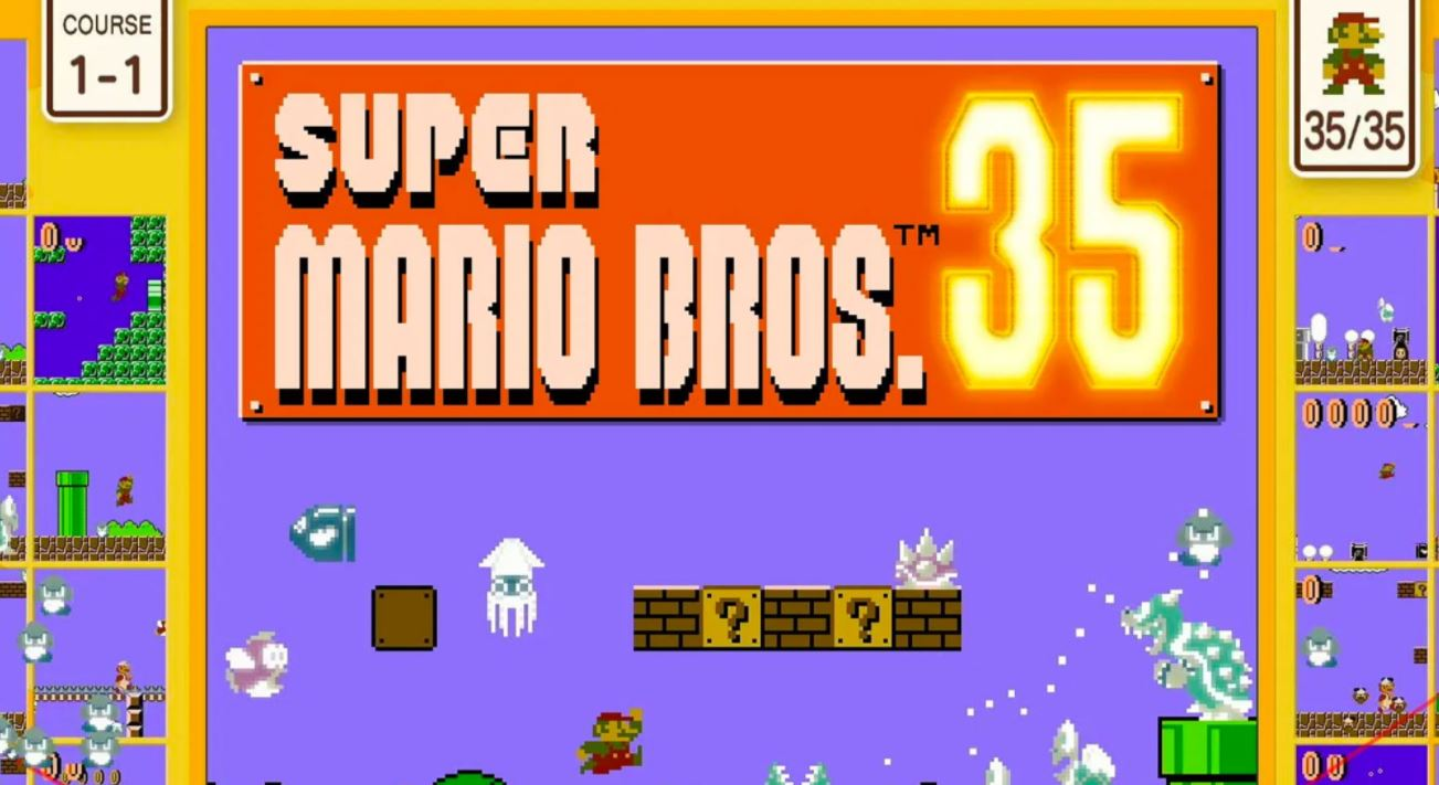 'Super Mario Bros. 35': El nuevo battle royale de Nintendo para Switch