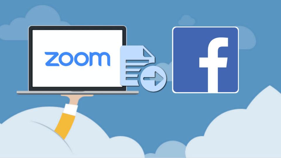Zoom permite transmitir videoconferencias en Facebook