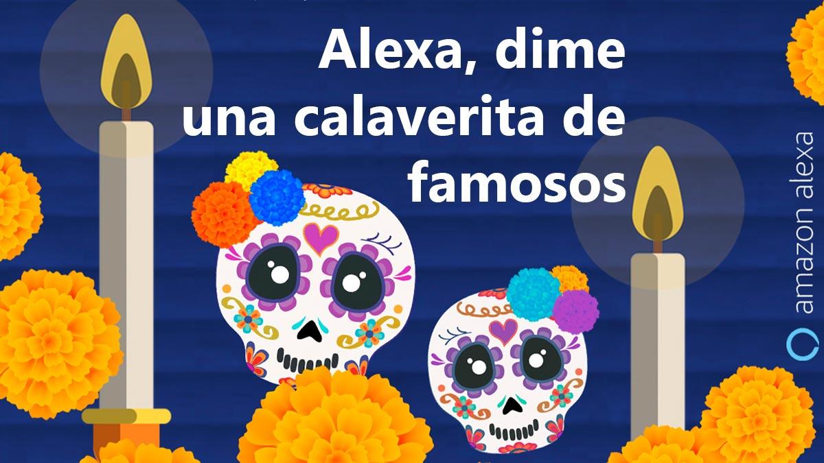 Cómo festejar con Alexa de Amazon el día de Muertos y Halloween