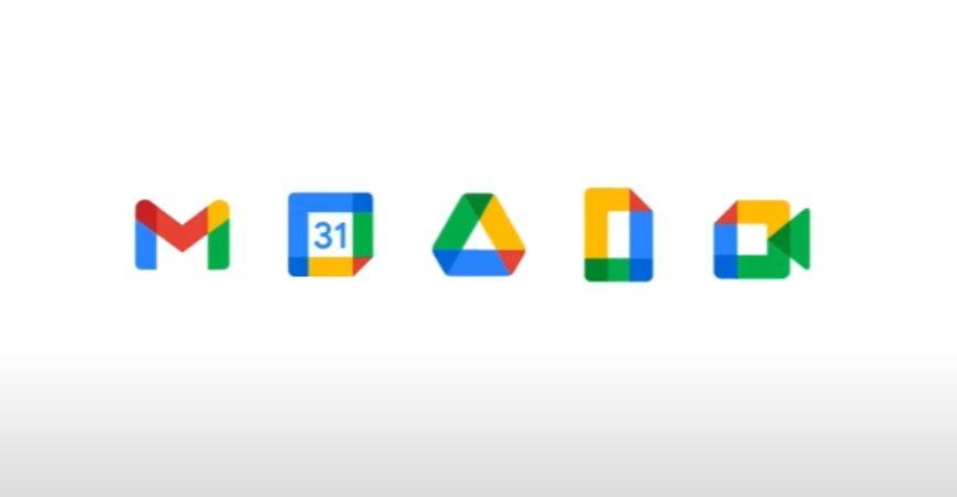 Conoce el nuevo logo de Gmail, Calendar, Drive, Docs y Meet