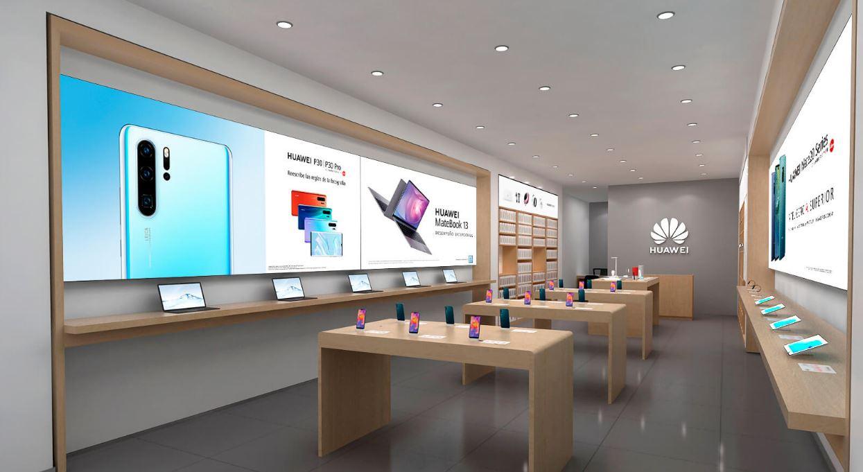 Huawei anuncia la apertura de 12 tiendas en ciudades de México
