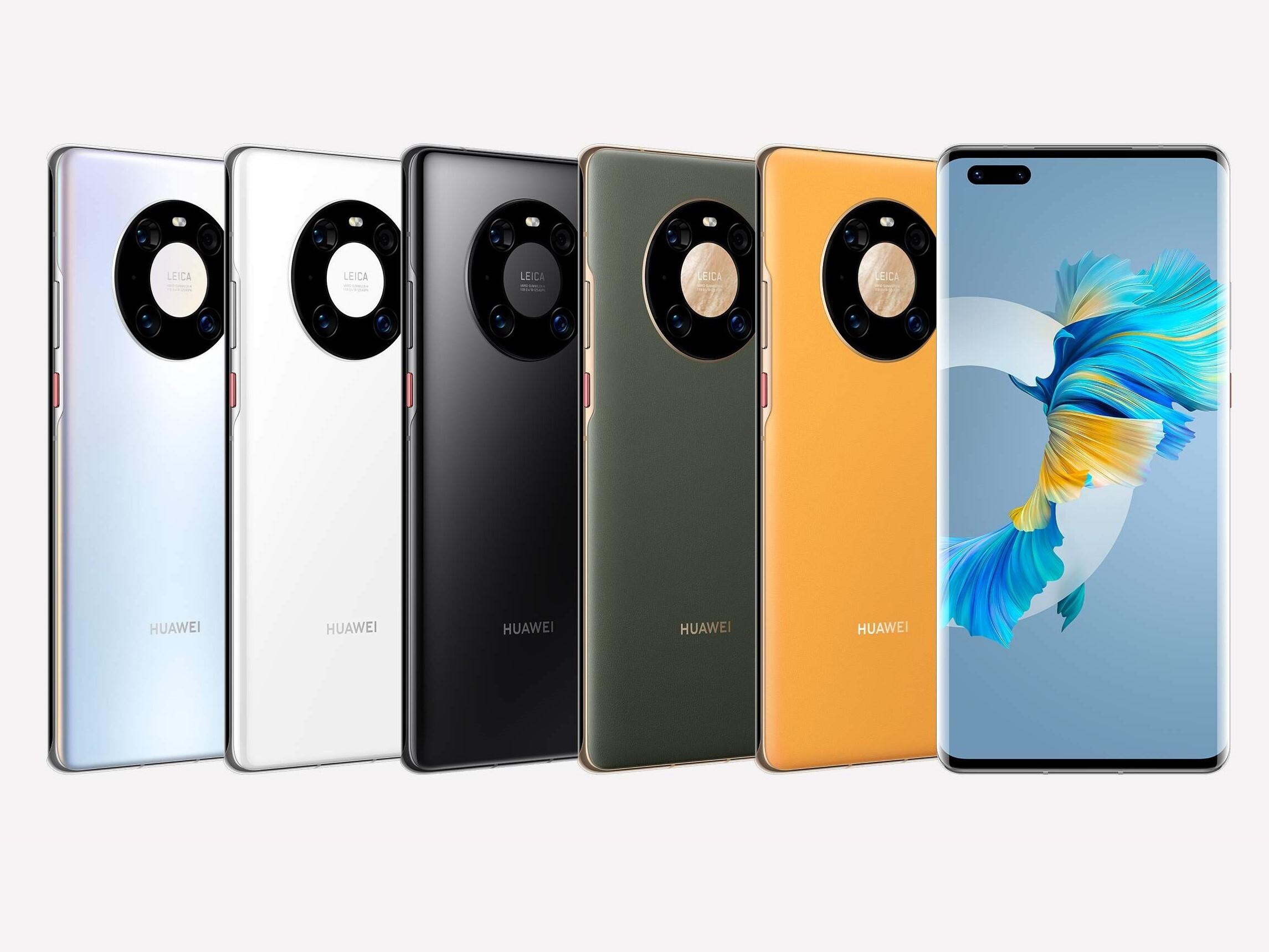 Huawei presenta la serie Mate 40, los primeros Android con chip de 5 nm