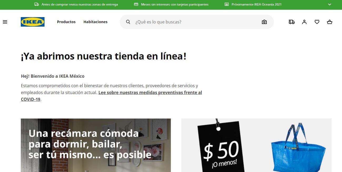 IKEA abre su tienda en línea en México 2