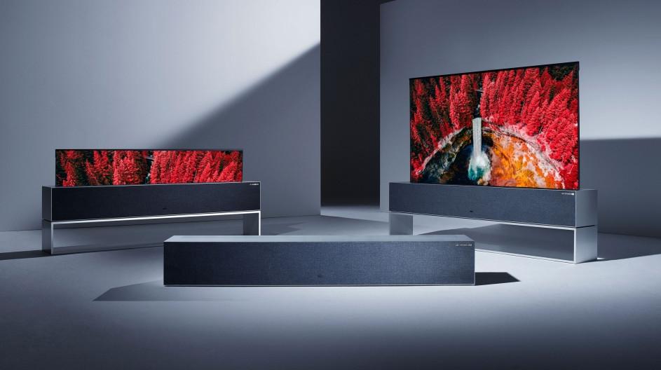 LG lanza la primera pantalla enrollable del mundo: LG SIGNATURE OLED R