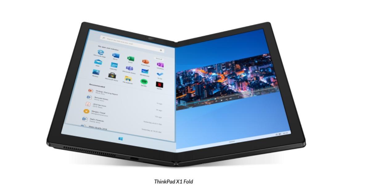 Lenovo ThinkPad X1 Fold: La primera PC plegable, ya está a la venta