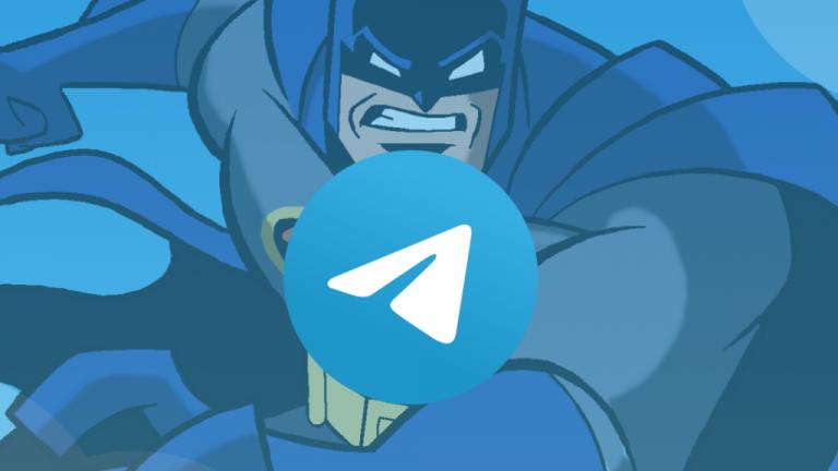 Llega a Telegram el modo Batman: una forma anónima de comunicarte