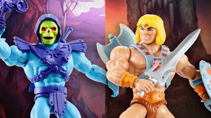 Mattel anuncia su nueva línea de figuras: Masters of the Universe Origins