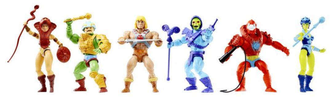 Mattel anuncia una nueva línea de figuras de Masters of the Universe Origins 3