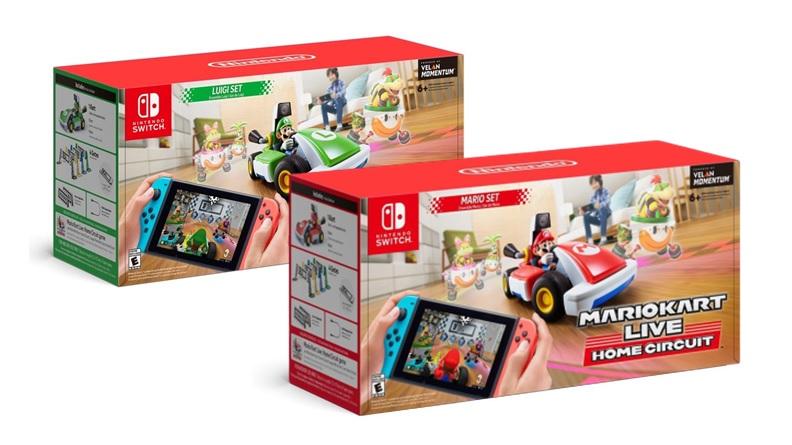 Nintendo anuncia el precio de los sets de MarioKart Live: Home Circuit