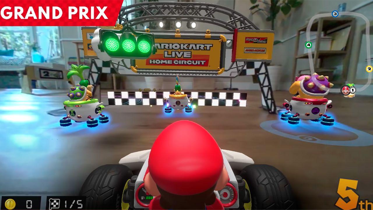 Nintendo muestra el primer gameplay del Mario Kart Live: Home Circuit