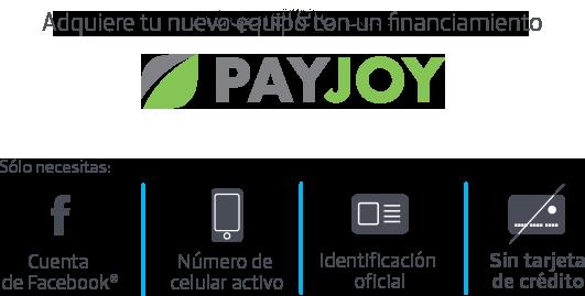 PayJoy financia tu smartphone en 5 minutos con tu cuenta de Facebook