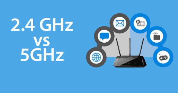 Qué dispositivos usar en el WiFi 2,4 GHz y cuáles en 5GHz