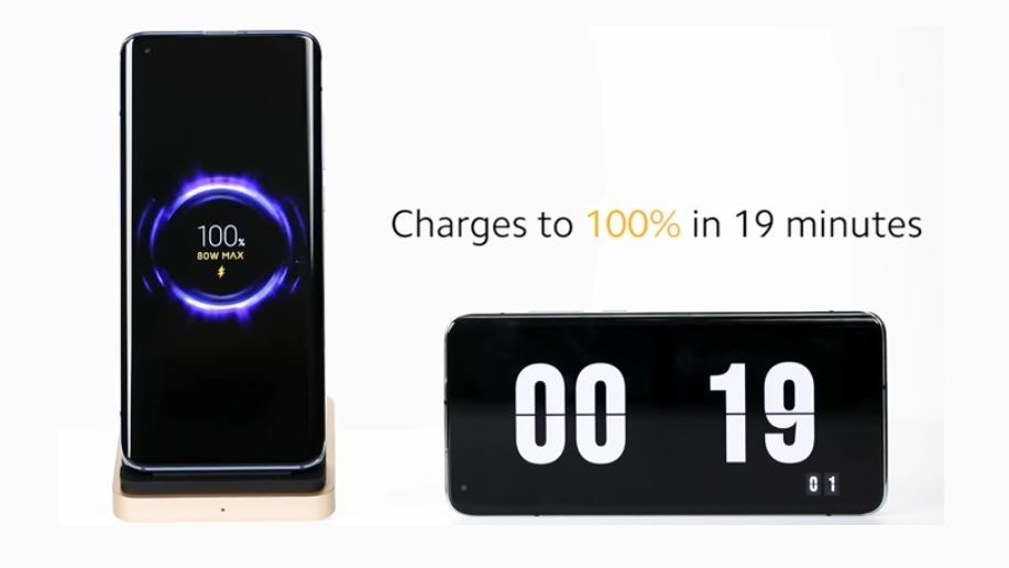 Xiaomi presenta su carga inalámbrica de 80W, la más rápida del mundo
