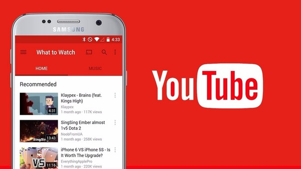 YouTube actualiza su app con nuevos gestos y funciones