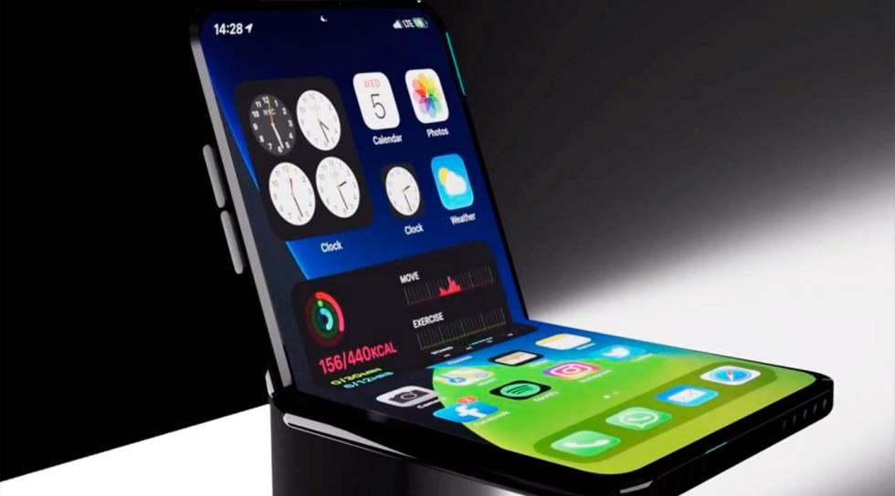 Apple estaría probando un iPhone plegable para lanzar en 2022