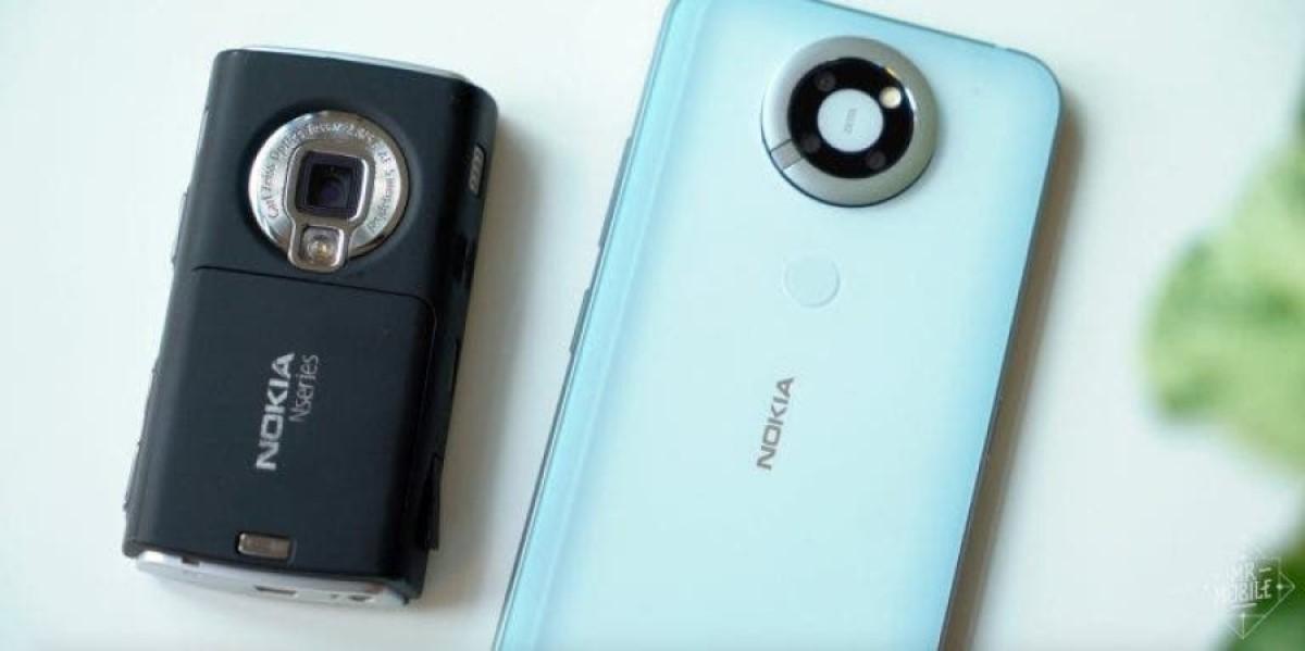 Así habría sido el Nokia N95 de 2007 que nunca salió al mercado