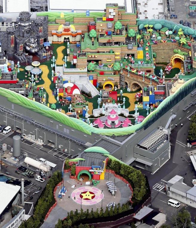 El parque de atracciones de Nintendo ya casi está terminado y así se ve 2