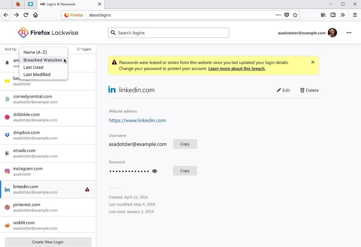 Firefox Lockwise, el increíble gestor de contraseñas de Mozilla