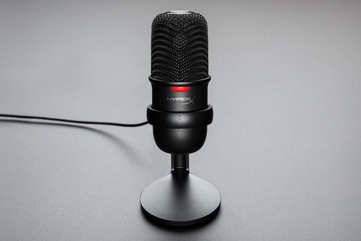 HyperX SoloCast: El micrófono ideal para streamers y hacer home office