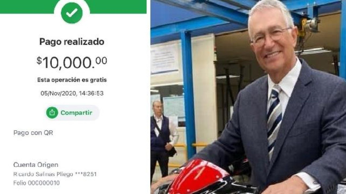 Ricardo Salinas Pliego regala 10 mil pesos a cuentas de Banco Azteca