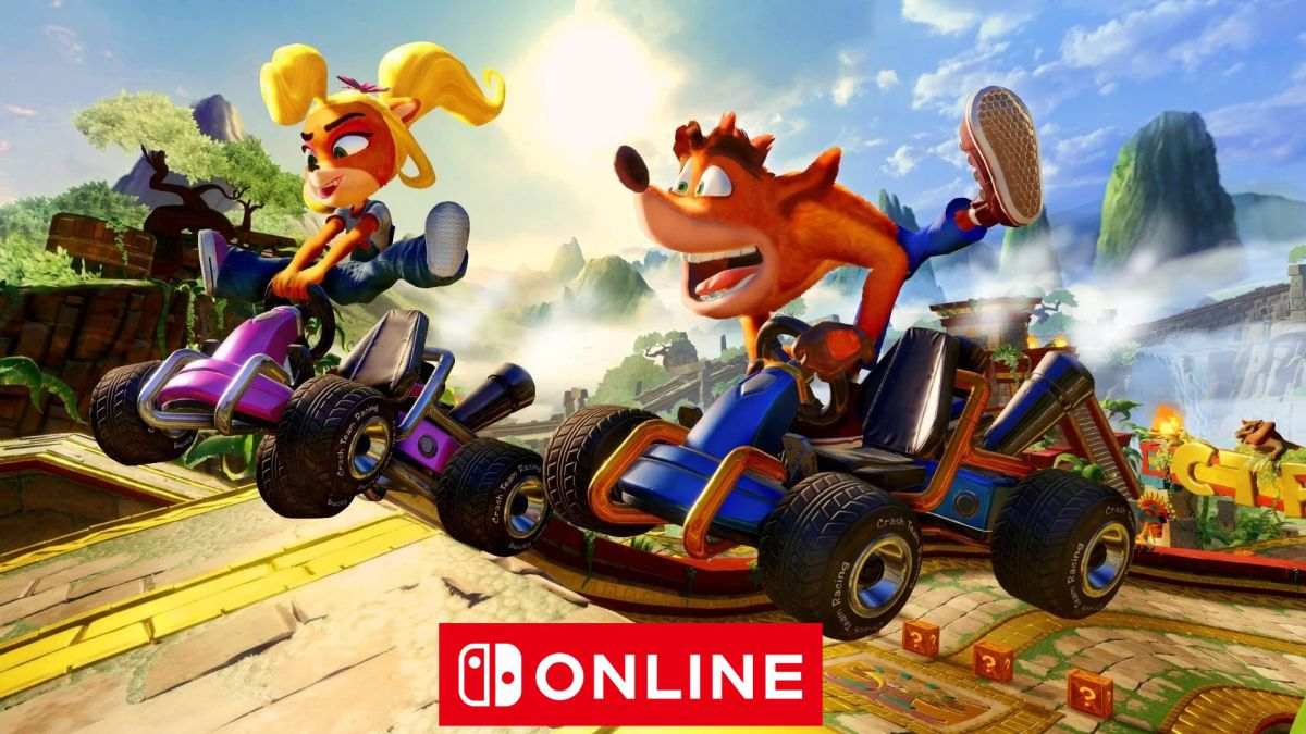 Crash Team Racing Nitro-Fueled está gratis en Nintendo Switch por unos días