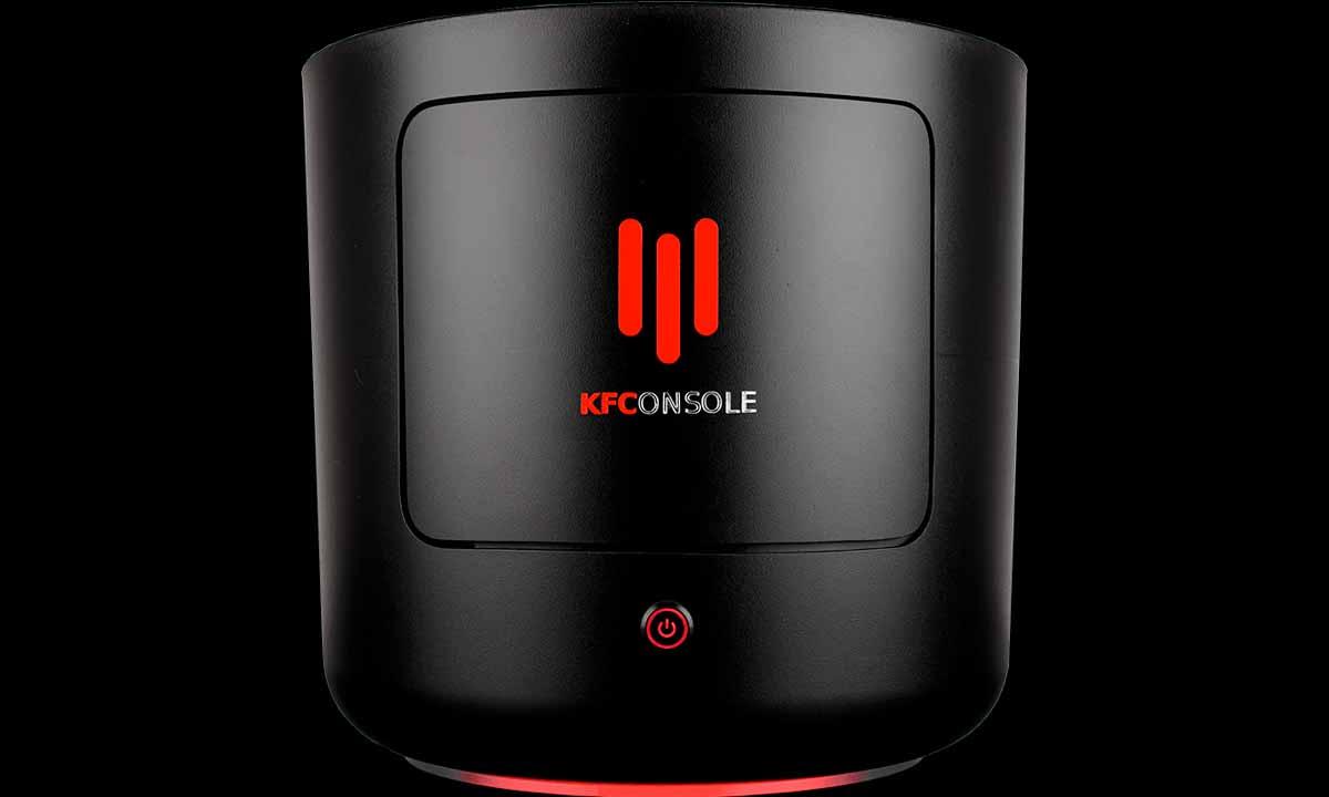 KFC presenta su consola de videojuegos para jugar y calentar pollo frito